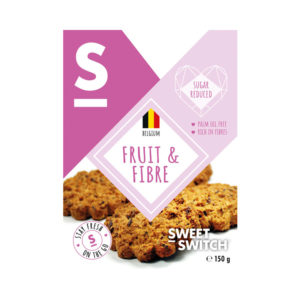 Sweet Switch Fruit and Fibre Biscuts 150g