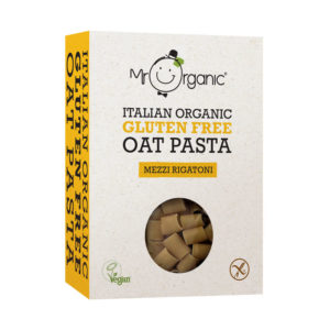 Pasta Mezzi Rigatoni de Aveia sem Glúten e Biológica Mr Organic 340g