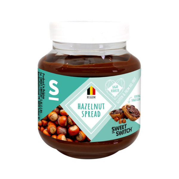 Creme de  Avelã Low Sugar Sweet Switch 350g