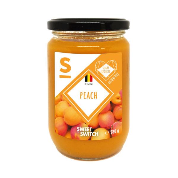 Spread de Pêssego Low Sugar Sweet Switch 280g