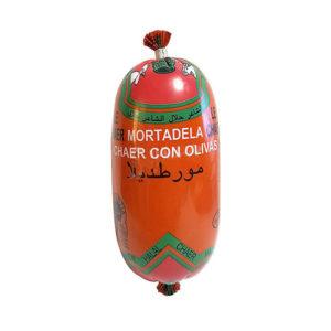Chaer Mortadella with olives Halal 280g