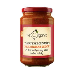 Molho Parmigiana sem Laticínios Biológico  Mr Organic 350g