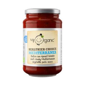 Molho Mediterrânico Saudável Biológico Mr Organic 350g