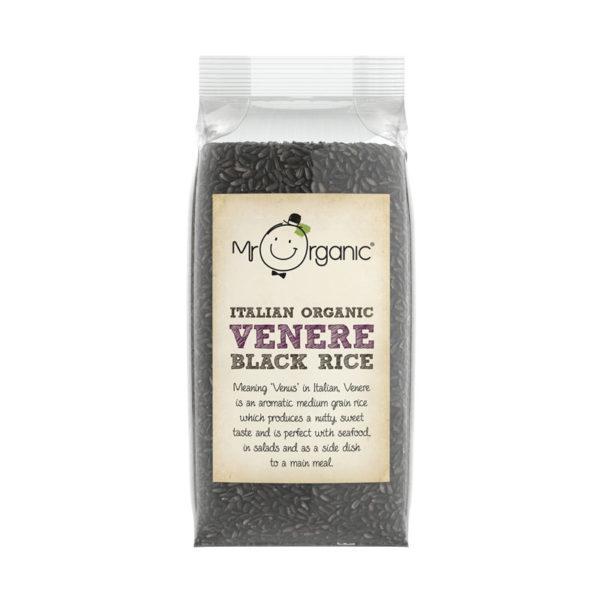 Arroz Negro Venere de Itália Biológico Mr Organic 500g