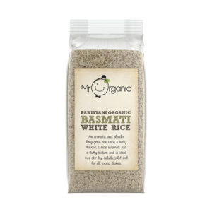 Arroz Basmati Branco do Paquistão Biológico Mr Organic 500g