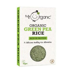 Arroz de Ervilhas Verdes Biológico Mr Organic 250g
