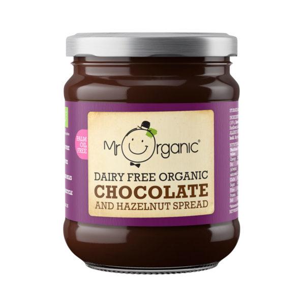 Spread Chocolate Avelã sem Laticínios Biológico Mr Organic 200g