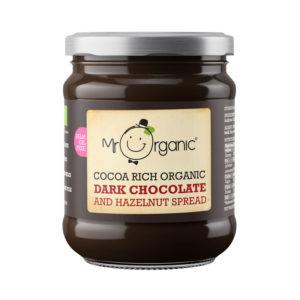 Mr Organic Dark Chocolate and Hazelnut Spread 200g