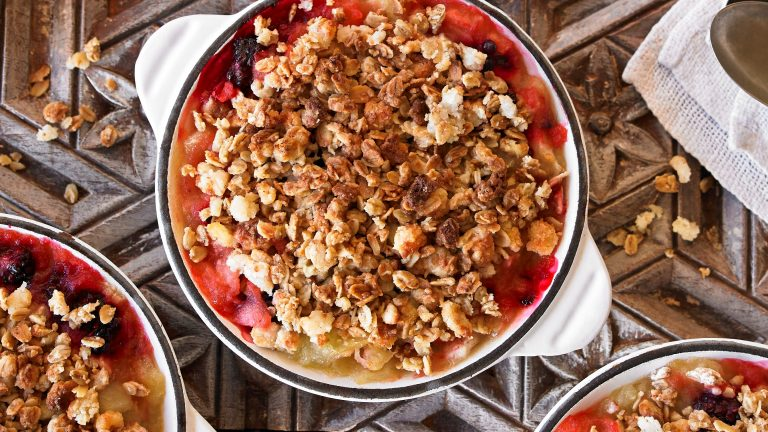 Mrs. Crimble's Crumble Topping