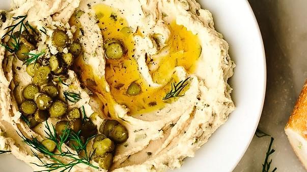 Hummus com Endro