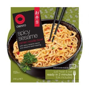 Kit Noodles Ramen com Sésamo Obento 240g