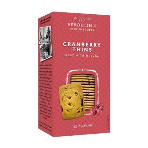 Thins de Cranberry VERDUIJNS 75g