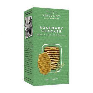 Crackers Alecrim com Sal Marinho VERDUIJNS 75g