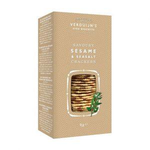 Crackers Sésamo com Sal Marinho VERDUIJNS 75g
