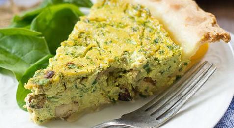 Quiche de ovo vegana e fácil