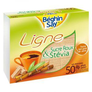 Béghin Say Ligne Brown Sugar Cubes with Stevia 250g