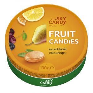 Rebuçados de Fruta Sky Candy 130g