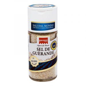 Dispensador de Sal Cinzento de Guérande Montosco 69g