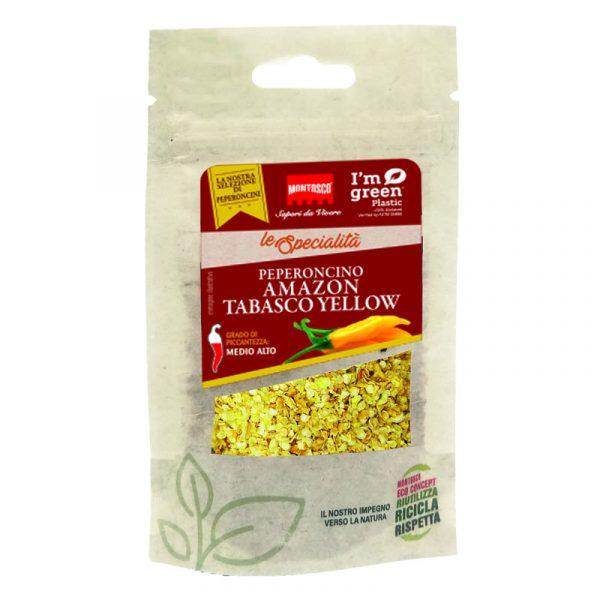 Saqueta de Tabasco Amazon Amarelo Montosco 20g