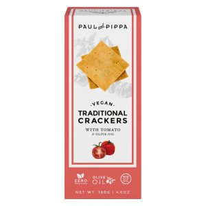 Crackers Tradicionais de Tomate Paul & Pippa 130g