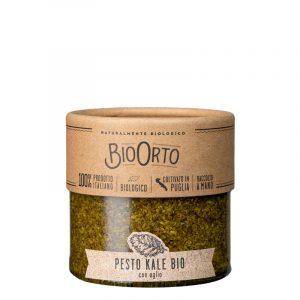 Pesto de Couve Kale com Alho Biológico BioOrto 180g