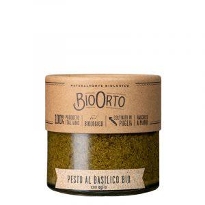 Pesto de Manjericão com Alho Biológico  BioOrto 180g