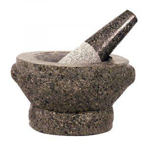 Pilão e Almofariz de Pedra 1un