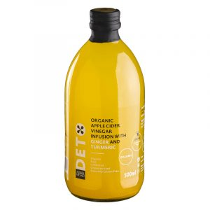 Andrea Milano Cider Vinegar with Ginger and Turmeric Deto 500ml