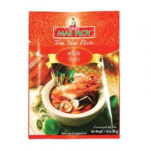 Pasta de Caril Tom Yum Mae Ploy 50g