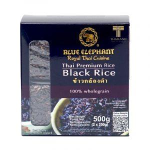 Arroz Negro Thai Blue Elephant 500g