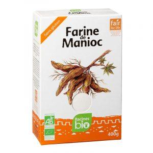 Farinha de Mandioca Racines BIO 400g