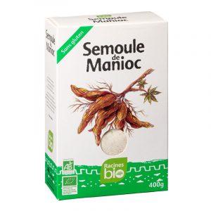 Sêmola de Mandioca Racines BIO 400g
