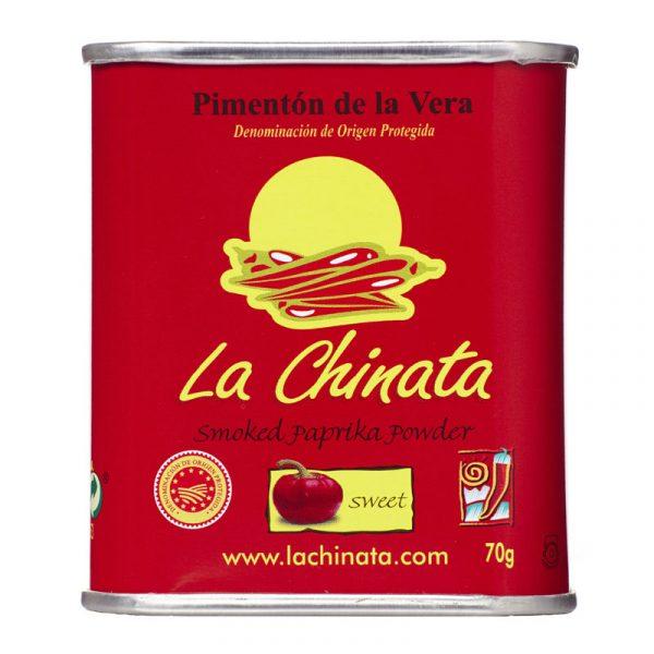 Pimentão de La Vera Fumado Doce DOP La Chinata 70g