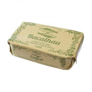 Bacalhau Cozido com Alho em Azeite Virgem Extra bySocilink 120g