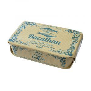 Bacalhau Cozido com Cebola em Azeite Virgem Extra bySocilink 120g
